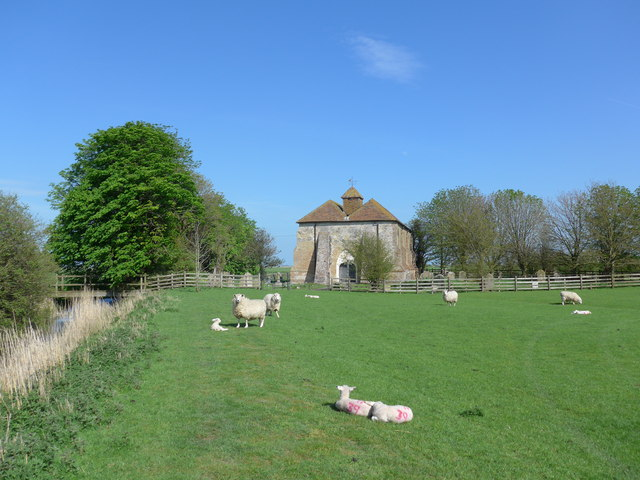 Churches in the Romney Marsh area (M)