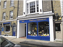 TQ9220 : Past & Present, High Street, Rye by Basher Eyre