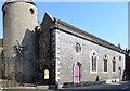 TQ4110 : St Michael-in-Lewes church by Julian P Guffogg