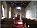 NY8777 : St. Giles Church, Birtley - nave (2) by Mike Quinn