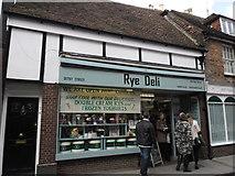 TQ9220 : Rye Deli, High Street by Basher Eyre