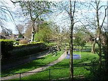 TQ4265 : Hollydale Recreation Ground by Marathon
