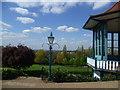 TQ3473 : Horniman Gardens from the Bandstand by Marathon