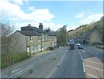 SE1115 : Whiteley Street Joins Manchester Road at Milnsbridge by Raymond Knapman