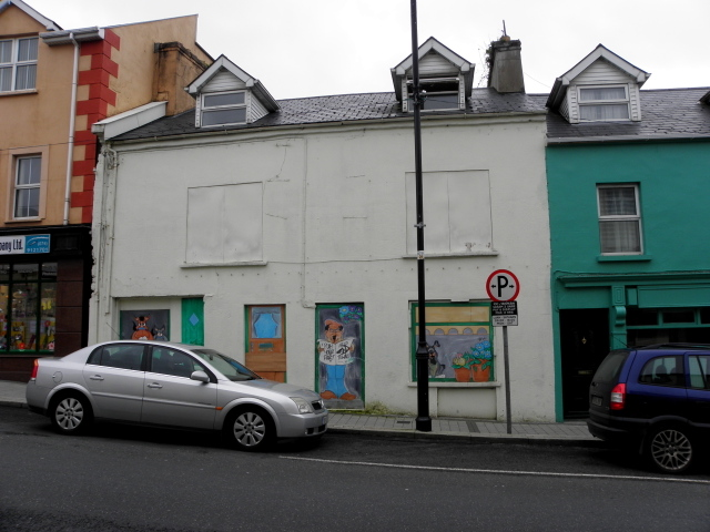 Vacant building, Letterkenny