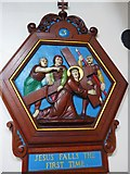 TQ9220 : St Anthony of Padua in Rye: Stations of the Cross (3) by Basher Eyre