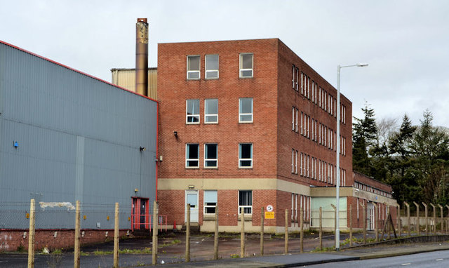 Vacant offices, The Cutts, Derriaghy (April 2014)
