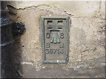 ST6834 : Ordnance Survey Flush Bracket S6714 by Peter Wood