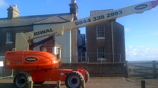 Demolition of former coastguard house at Birling Gap
