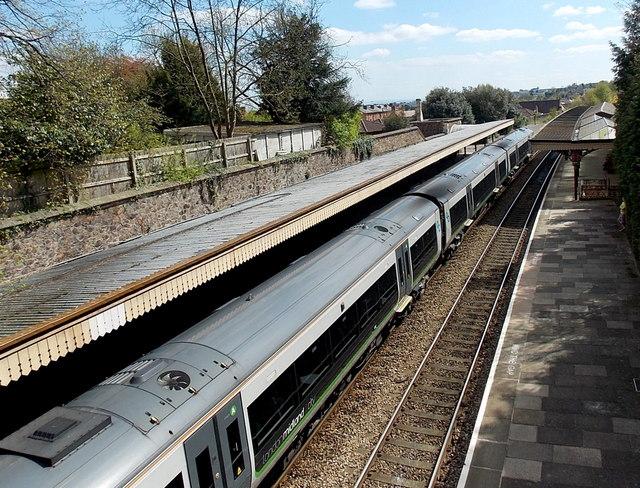 London Midland City train in Great Malvern railway station