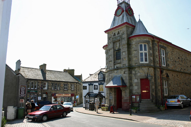 Market Place and Town Hall Marazion