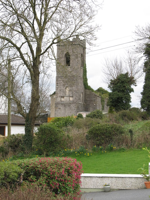 The tower of the derelict St Jude's Anglican Church, Camlough