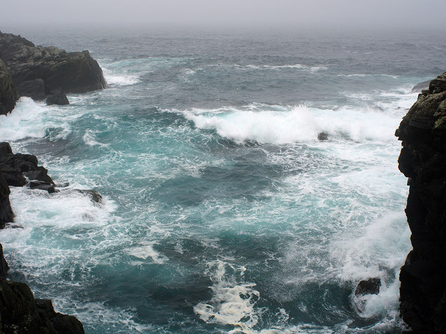 Rough sea in Trolli Geo