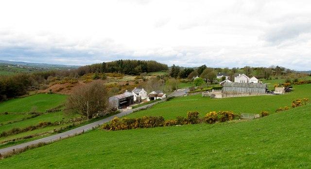 Rural settlement on the Keggall Road