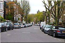 TQ2785 : South Hill Park. Belsize Park, NW3 by Kate Jewell