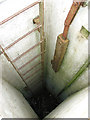 TG1129 : View down the entrance shaft of the Saxthorpe ROC bunker by Evelyn Simak