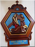 TQ9220 : St Anthony of Padua in Rye: Stations of the Cross (9) by Basher Eyre