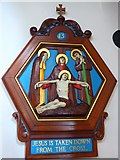 TQ9220 : St Anthony of Padua in Rye: Stations of the Cross (13) by Basher Eyre