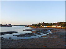 TQ7568 : River Medway, Chatham Waterfront by Chris Whippet
