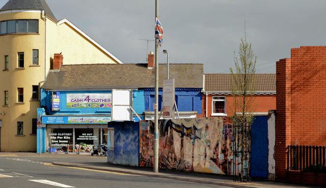 Site, 156-160 Ravenhill Road, Belfast - April 2014(1)