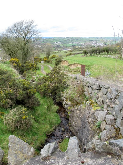 The upper reaches of the Camlough River