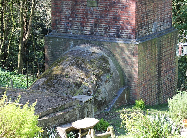 Base Of Railway Tunnel Airshaft Upper 169 Bob Embleton