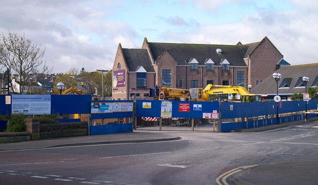Pumping station construction, Bangor