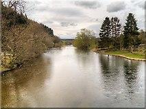 NY4724 : River Eamont, Downstream from Pooley Bridge by David Dixon
