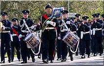 J5081 : Flute Band, Bangor by Rossographer