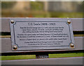 J5081 : C.S. Lewis plaque, Bangor by Rossographer