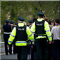 J5081 : Police, Bangor by Rossographer