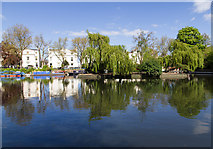 TQ2681 : Grand Union Canal, Little Venice by David P Howard