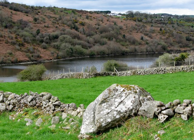 Field boundary walls between the Keggall Road and Camlough lake
