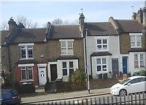 TQ3874 : Terraces houses, Nightingale Grove by N Chadwick