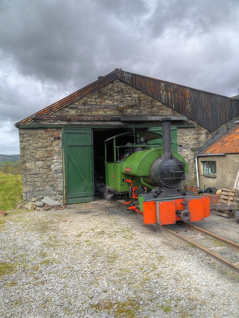 "Threlkeld Quarry and Mining Museum, ""Sir Tom"""