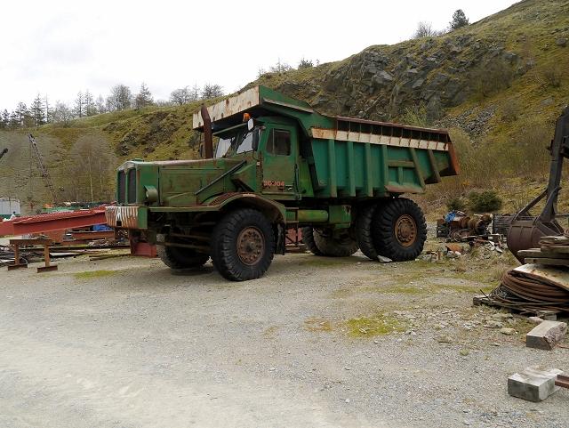 Quarry Truck, Threlkeld Quarry and Mining Museum