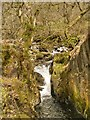 NY3920 : Aira Beck below Aira Force by David Dixon