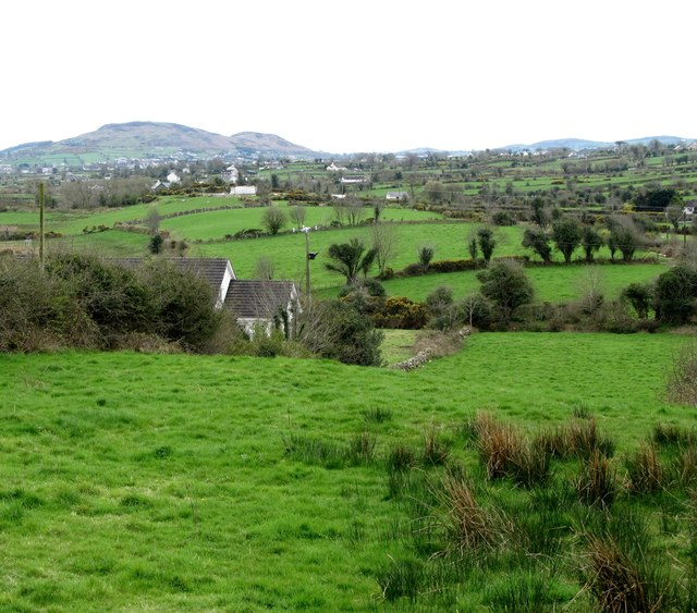 The Flurry Valley from Tamnaghbane Road