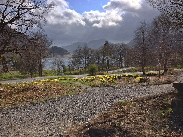 Ullswater View from Gowbarrow park