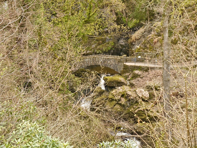 The Lower Bridge at Aira Force