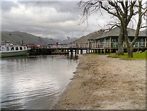 NY3916 : Glenridding Pier, Ullswater by David Dixon