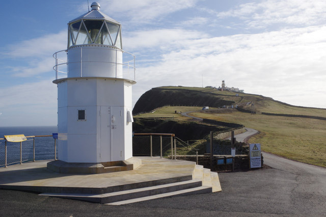 Former Muckle Roe Lighthouse