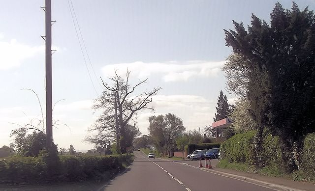 A528 at Preston Gubbals Motor Service