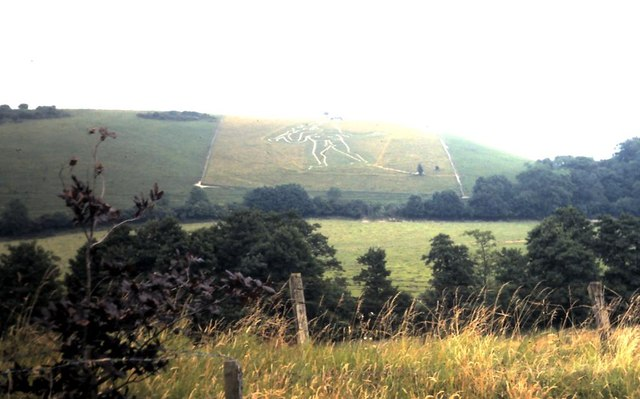 Cerne Abbas Giant in 1981