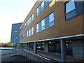 SU9850 : Management School Building on Stag Hill Campus at The University of Surrey by Adrian Cable