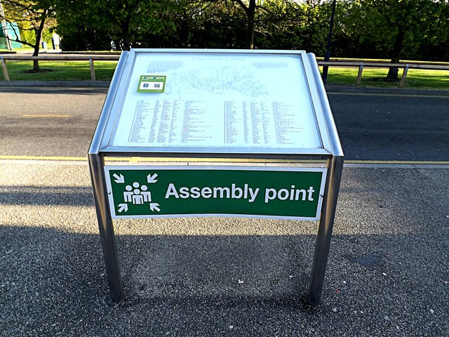 Assembly Point & Map