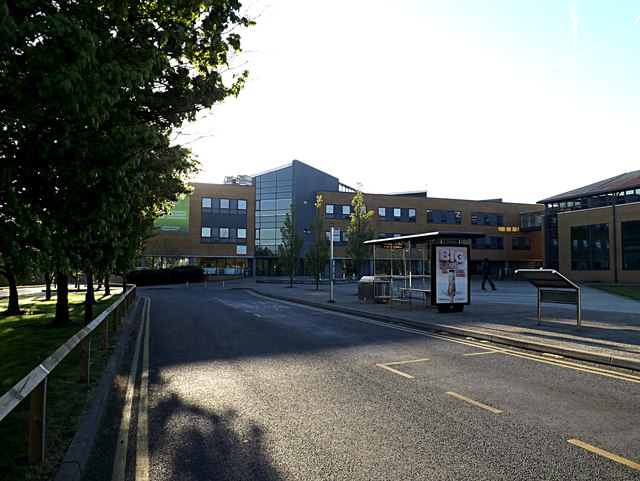 Management School Building on Stag Hill Campus at The University of Surrey