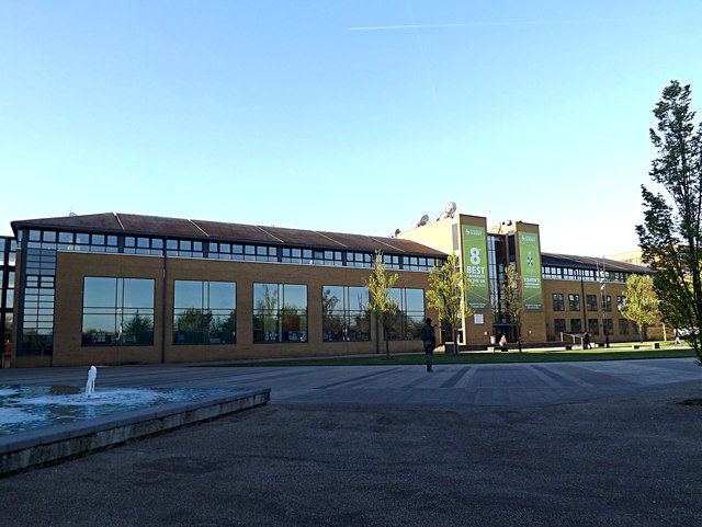 Austin Pearce Building on Stag Hill Campus at The University of Surrey