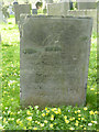 SK7439 : Slate gravestone, Whatton by Alan Murray-Rust