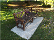 SU9850 : Seat near The Lake by Adrian Cable